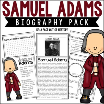 Samuel Adams Biography Pack (Revolutionary Americans)