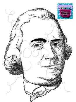 Samuel Adams Clipart - Realistic Image