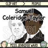 Samuel Coleridge-Taylor Clip Art