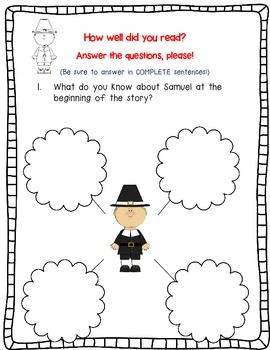 Samuel Eaton's Day by Kate Waters-A Complete Book Response Journal