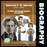 Samuel Morse Biography Nonfiction Reading and Activities
