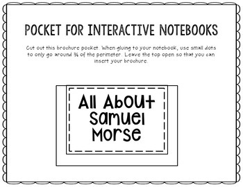 Samuel Morse - Inventor Research Project Interactive Notebook, Scientist
