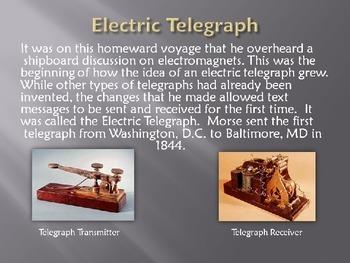 Samuel Morse and Morse Code Powerpoint Presentation