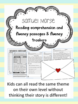 Samuel Morse fluency and comprehension leveled passage