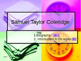Samuel Taylor Coleridge Intro/ Meet the author