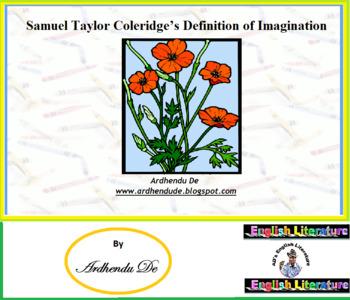Samuel Taylor Coleridge's Definition of Imagination