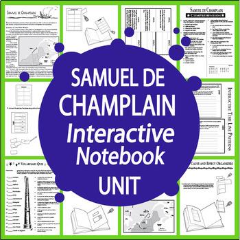 Samuel Champlain Interactive Notebook Unit