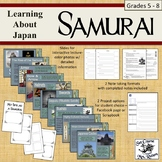 Samurai: Learning About Japan; slideshow; note taking; pro