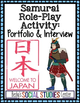 Samurai Project in Feudal Japan: Writing, Drawing and Speaking Skills!