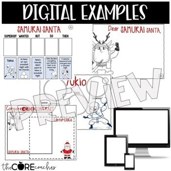 Samurai Santa: Interactive Read-Aloud Lesson Plans and Activities