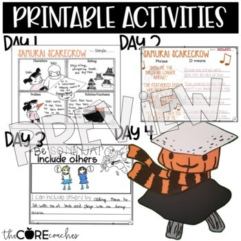 Samurai Scarecrow: Interactive Read-Aloud Lesson Plans and Activities