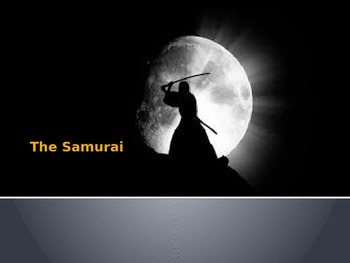 Samurai of Japan PowerPoint