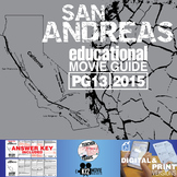 San Andreas Movie Guide | Questions | Worksheet (PG13 - 2015)