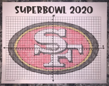 San Francisco 49ers (Coordinate Graphing Activity)