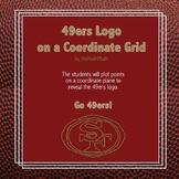 San Francisco 49ers Logo on the Coordinate Plane