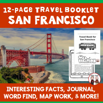 San Francisco Vacation Travel Booklet