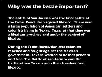 San Jacinto Day PowerPoint