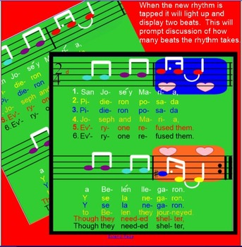 San Jose y Maria ~ Trad. Mexican Christmas Song~ tim-ka & ties~SMARTboard
