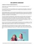 San Junipero Worksheet (Black Mirror)
