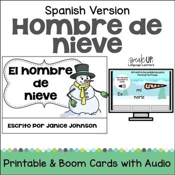 San Nicolás Spanish Santa Christmas Reader {libro en español} & Vocab Work