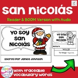 San Nicolás Navidad Spanish Santa Christmas Reader Print & Boom Cards   español