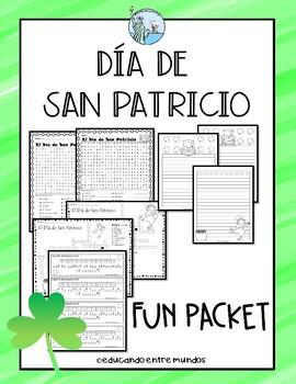San Patricio Fun packet Saint Patrick's Day