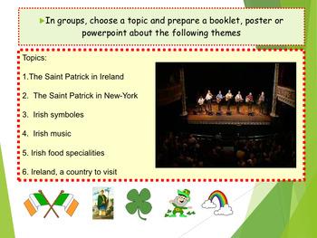 Spanish San Patricio, Saint Patrick in Spanish PPT for beginners