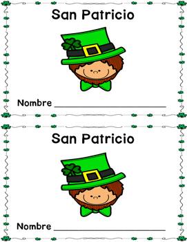 San Patricio Texto Emergente (St. Patrick's emergent reader SPANISH)