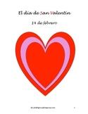 San Valentín - 4 actividades en español