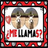 San Valentín:  Ama La Llama #2 . . . 4 Mini  Llama Posters and 4 Blank Cards