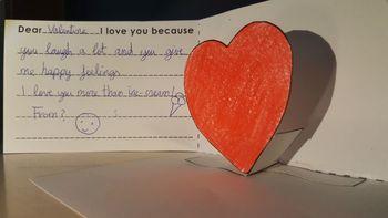 San Valentín Craftivity: Te Doy Mi Corazón