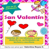 San Valentín BUNDLE - Valentine´s day in Spanish BUNDLE li