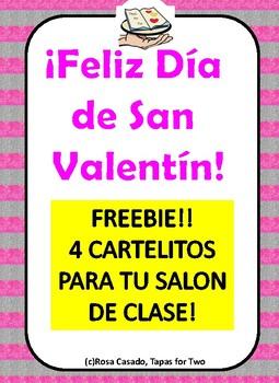 San Valentin FREEBIE