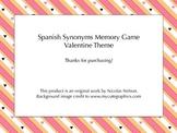 Spanish Valentine Themed Memory / San Valentin Memoria - S