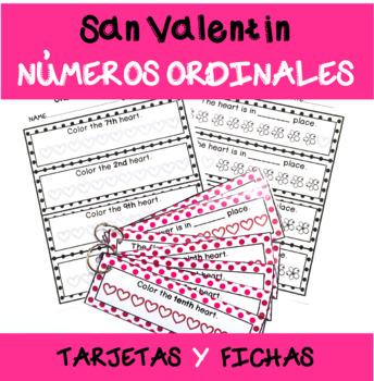 San Valentín/ Números ordinales 1º-10º