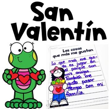 San Valentín - Valentine's Day Spanish