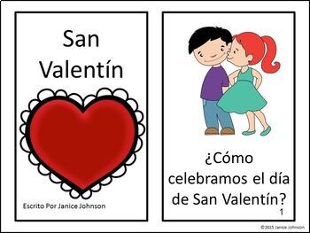 San Valentín {español} Spanish Valentine's Day Reader + BOOM™ Version with Audio