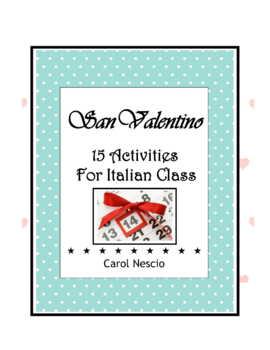 San Valentino ♥ Pac For Italian Class