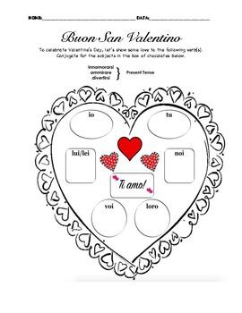 San Valentino Verb Box of Chocolates