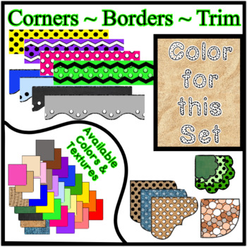 Sand Borders - Trim - Corners * Create Your Own Dream Classroom / Daycare *