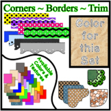 Sand Borders - Trim - Corners * Create Your Own Dream Clas