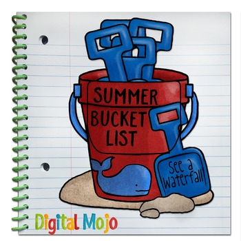 Sand Bucket Interactive Notebook Editable Pocket Template