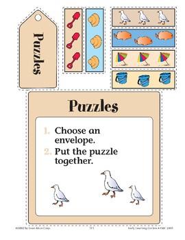Sand Bucket--Puzzles
