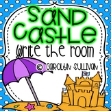 Sand Castle: Beach Theme Write the Room