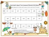 Sand Castle Quest Final Consonant Blends (CVCC) Game RF.1.3, RF.2.3
