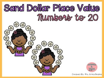 Sand Dollar Place Value By Erika Deane Teachers Pay Teachers