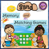 Sand Memory and Matching Games