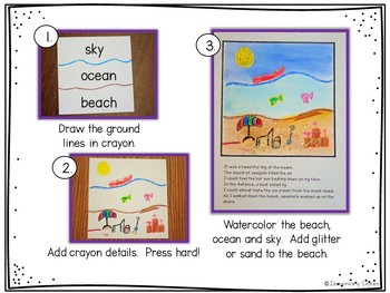 Beach Writing Activities ~ Sand, Sea and Sky