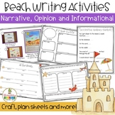Beach Writing Activities ~ Sand, Sea and Sky