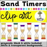 Sand Timer Clipart - Hourglass